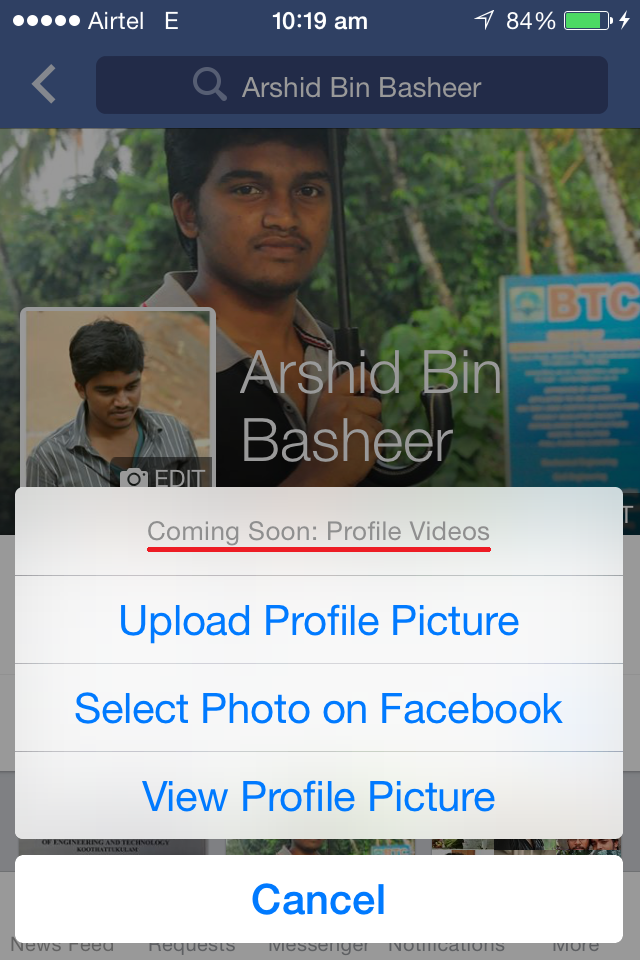 """Facebook introduces """"Profile Videos"""", Bring your profile picture ..."""